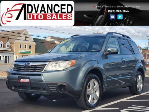 2009 Subaru Forester for sale at Advanced Auto Sales in Dracut MA