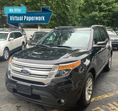 2013 Ford Explorer for sale at Eastclusive Motors LLC in Hasbrouck Heights NJ