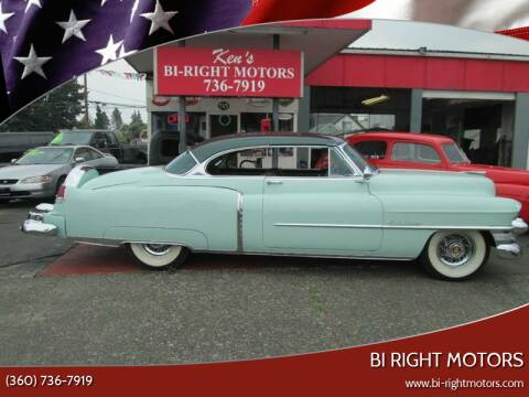 1953 Cadillac DeVille for sale at Bi Right Motors in Centralia WA