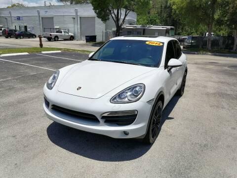 2014 Porsche Cayenne for sale at Best Price Car Dealer in Hallandale Beach FL
