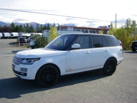 2016 Land Rover Range Rover for sale at NORTHWEST AUTO SALES LLC in Anchorage AK
