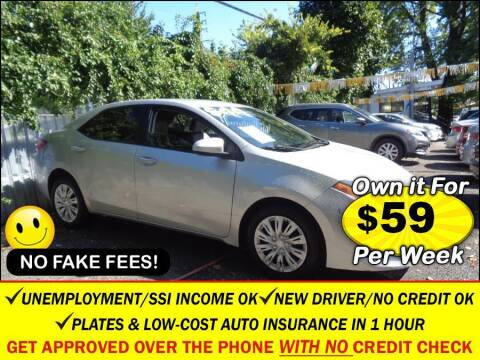 2017 Toyota Corolla for sale at AUTOFYND in Elmont NY