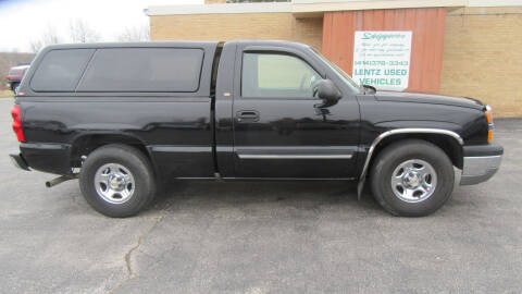 2004 Chevrolet Silverado 1500 for sale at LENTZ USED VEHICLES INC in Waldo WI