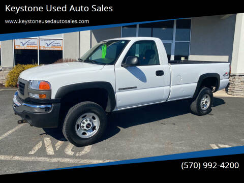 2004 GMC Sierra 2500HD for sale at Keystone Used Auto Sales in Brodheadsville PA