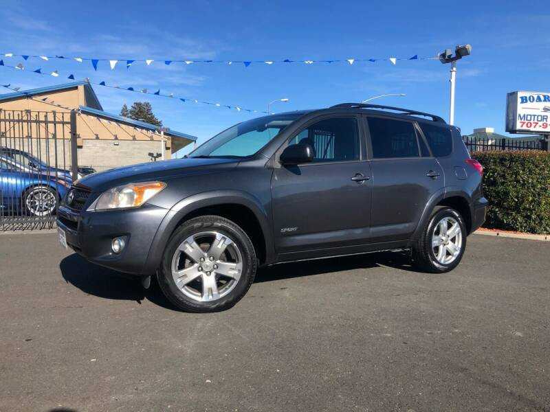 2009 Toyota RAV4 for sale at BOARDWALK MOTOR COMPANY in Fairfield CA