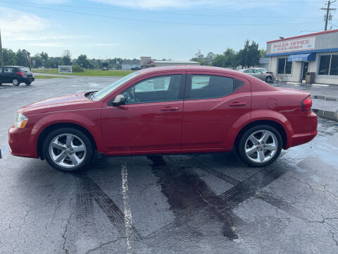 2013 Dodge Avenger for sale at ROWE'S QUALITY CARS INC in Bridgeton NC