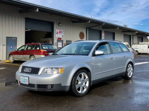 2002 Audi A4 for sale at DASH AUTO SALES LLC in Salem OR