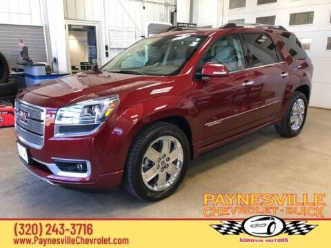 2015 GMC Acadia for sale at Paynesville Chevrolet - Buick in Paynesville MN