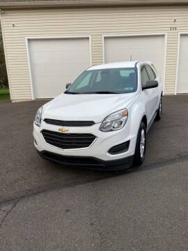 2016 Chevrolet Equinox for sale at Interstate Fleet Inc. Auto Sales in Colmar PA