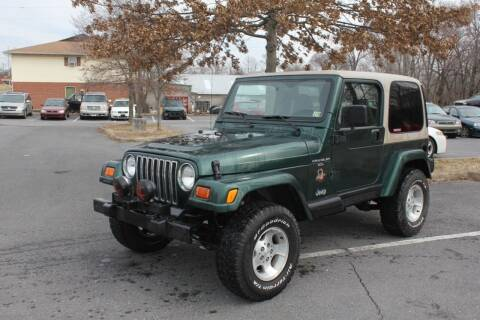 2001 Jeep Wrangler for sale at Auto Bahn Motors in Winchester VA