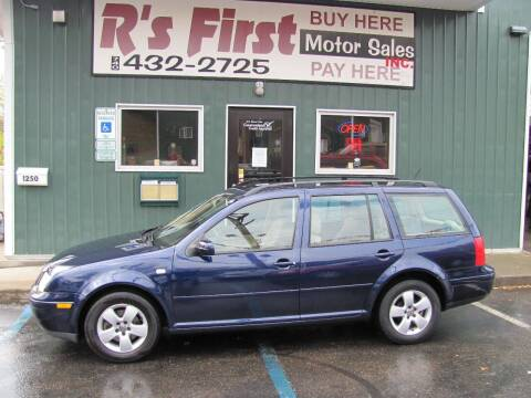 2003 Volkswagen Jetta for sale at R's First Motor Sales Inc in Cambridge OH