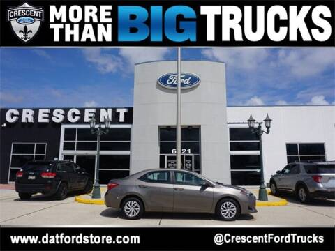 2018 Toyota Corolla for sale at Crescent Ford in Harahan LA