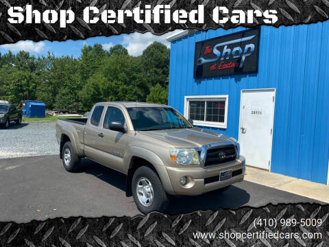 2007 Toyota Tacoma for sale at Shop Certified Cars in Easton MD
