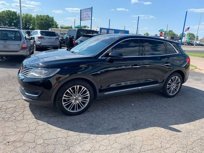 2016 Lincoln MKX for sale at Superior Used Cars LLC in Claremore OK