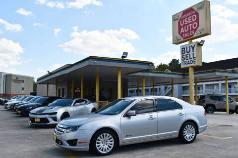 2011 Ford Fusion Hybrid for sale at Houston Used Auto Sales in Houston TX