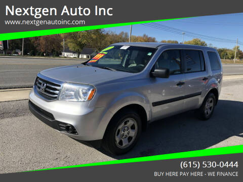 2012 Honda Pilot for sale at Nextgen Auto Inc in Smithville TN
