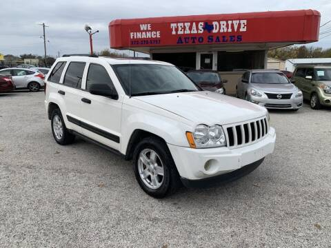 2005 Jeep Grand Cherokee for sale at Texas Drive LLC in Garland TX