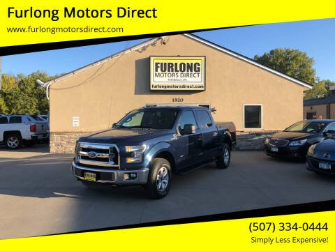 2015 Ford F-150 for sale at Furlong Motors Direct in Faribault MN