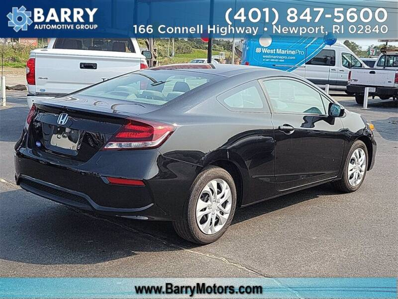 2015 Honda Civic for sale at BARRYS Auto Group Inc in Newport RI