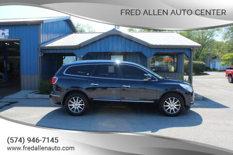 2017 Buick Enclave for sale at Fred Allen Auto Center in Winamac IN
