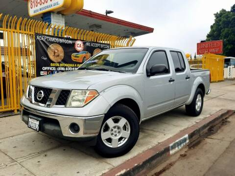 2007 Nissan Frontier for sale at UNITED AUTO MART CA in Arleta CA