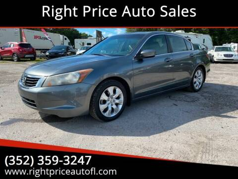 2008 Honda Accord for sale at Right Price Auto Sales in Waldo FL