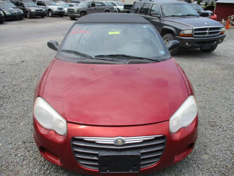 2004 Chrysler Sebring for sale at FERNWOOD AUTO SALES in Nicholson PA
