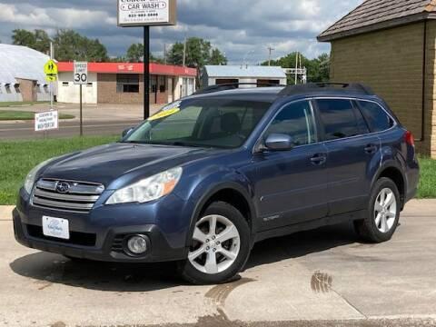 2014 Subaru Outback for sale at Rolling Wheels LLC in Hesston KS