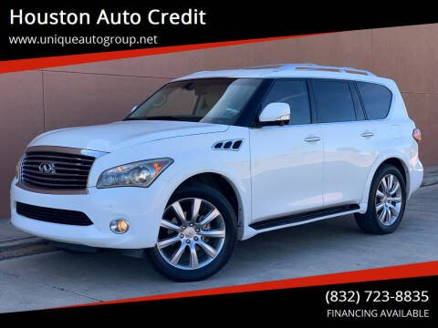 2011 Infiniti QX56 for sale at Houston Auto Credit in Houston TX