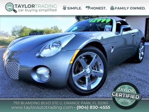 2007 Pontiac Solstice for sale at Taylor Trading in Orange Park FL