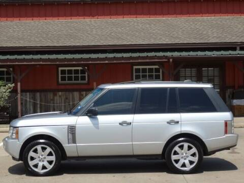 2007 Land Rover Range Rover for sale at Westside Hummer Inc. in Houston TX