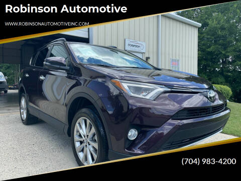 2018 Toyota RAV4 for sale at Robinson Automotive in Albemarle NC