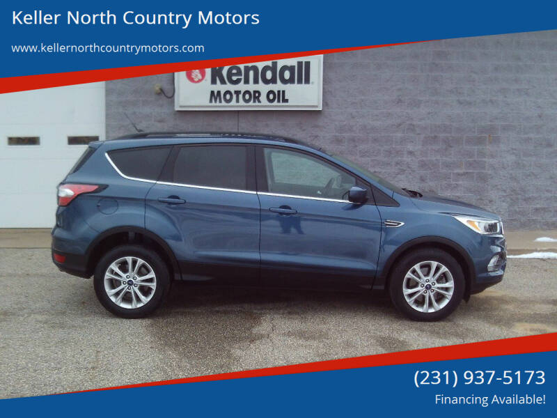 2018 Ford Escape for sale at Keller North Country Motors in Howard City MI