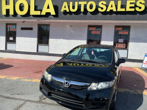 2010 Honda Civic for sale at HOLA AUTO SALES CHAMBLEE- BUY HERE PAY HERE - in Atlanta GA