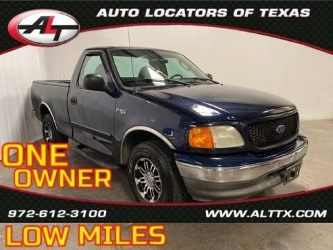 2004 Ford F-150 Heritage for sale at AUTO LOCATORS OF TEXAS in Plano TX