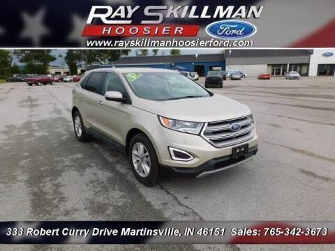 2018 Ford Edge for sale at Ray Skillman Hoosier Ford in Martinsville IN