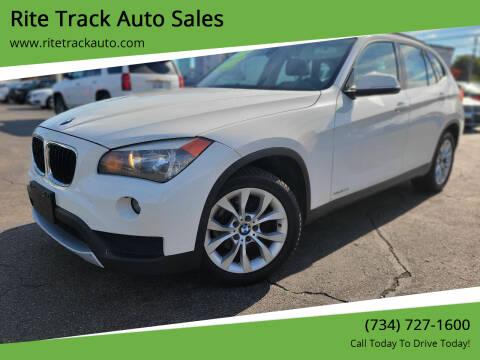 2014 BMW X1 for sale at Rite Track Auto Sales in Wayne MI