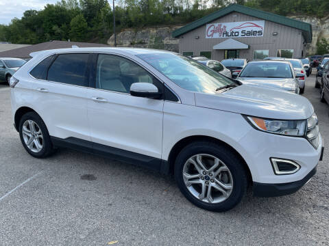 2017 Ford Edge for sale at Gilly's Auto Sales in Rochester MN