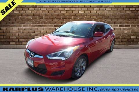 2016 Hyundai Veloster for sale at Karplus Warehouse in Pacoima CA