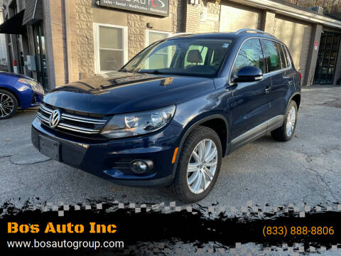 2014 Volkswagen Tiguan for sale at Bos Auto Inc in Quincy MA