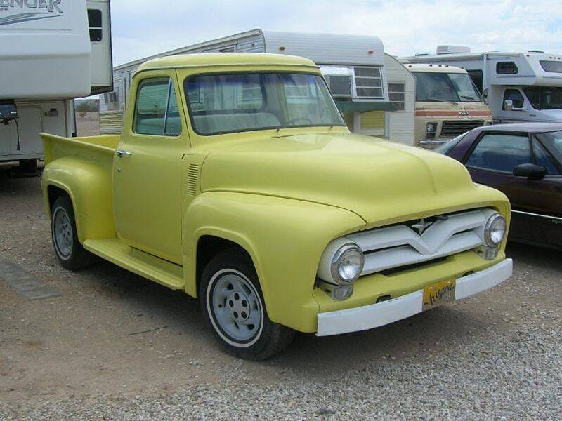 1954 Ford F-100 for sale at Collector Car Channel - Desert Gardens Mobile Homes in Quartzsite AZ