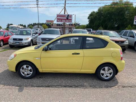 2008 Hyundai Accent for sale at Affordable 4 All Auto Sales in Elk River MN