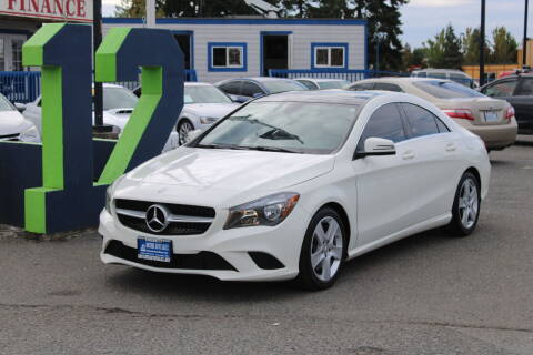 2015 Mercedes-Benz CLA for sale at BAYSIDE AUTO SALES in Everett WA