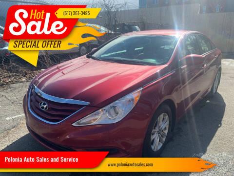 2012 Hyundai Sonata for sale at Polonia Auto Sales and Service in Hyde Park MA