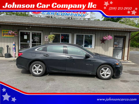 2016 Chevrolet Malibu for sale at Johnson Car Company llc in Crown Point IN