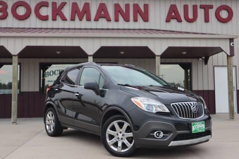 2013 Buick Encore for sale at Bockmann Auto Sales in Saint Paul NE