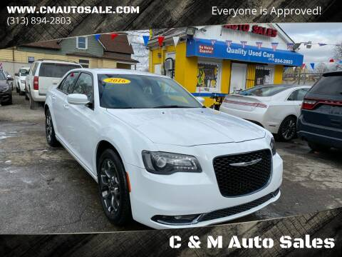 2016 Chrysler 300 for sale at C & M Auto Sales in Detroit MI