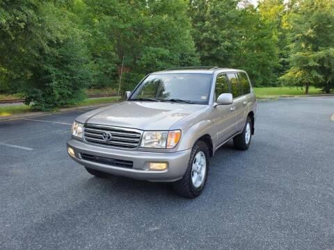 2003 Toyota Land Cruiser for sale at Apex Autos Inc. in Fredericksburg VA