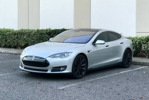2013 Tesla Model S for sale at Carfornia in San Jose CA