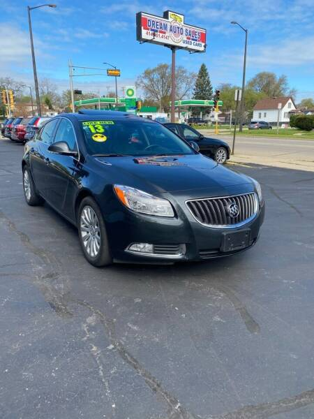 2013 Buick Regal for sale at Dream Auto Sales in South Milwaukee WI